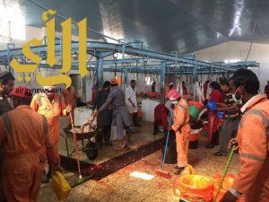 أمانة الشرقية: ١٠٠٦٥ أضحية و 1340 بالخفجي في أول أيام عيد الأضحى المبارك