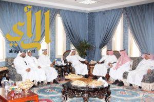 أمانة منطقة الباحة تعايد منسوبيها بعيد الأضحى المبارك