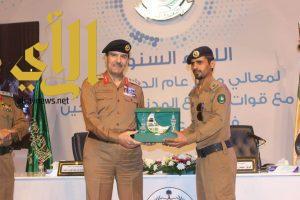 مدير مدني الصبيخه ينال جائزة التميز بالحج لعام 1437