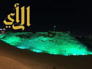 1000 علم يزين شوارع الظهران لليوم الوطني 86