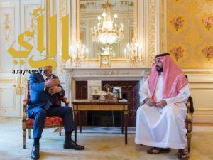 الأمير محمد بن سلمان يلتقي الرئيس المشارك لمجلس الأعمال السعودي الياباني