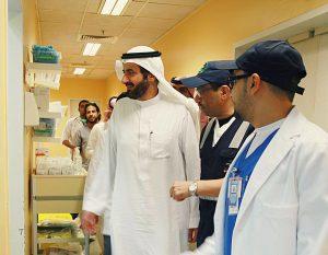 وزير الصحة يتفقد مراكز المراقبة الصحية بمطار الملك عبدالعزيز