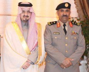 أمير منطقة عسير يشكر اللواء القرزعي