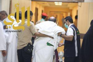 """""""الصحة"""" تسعف حجاج تعرضوا لإصابات عند رمي الجمرات"""