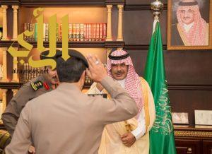 أمير الباحة يستقبل مدير سجون المنطقة