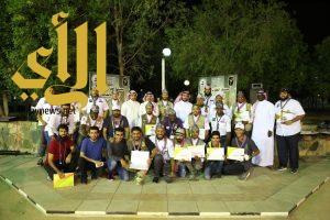 77 جوالاً سعودياً يحصلون على وسام العقاب الكشفي بالطائف