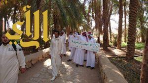 طلاب جامعة طيبة يطلعوا على معالم نهضة وسياحة وتراث القصيم