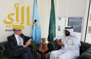 زيارة السفير الفرنسي لدى المملكة  للجمعية الوطنية لحقوق الإنسان