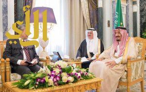 الملك سلمان يستقبل نائب رئيس الوزراء وزير الشؤون الداخلية الماليزي