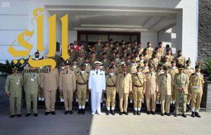 21 طالبًا سعوديًا يتخرجون من الأكاديمية العسكرية الباكستانية