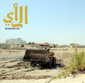 بلدية الخبر تردم أكثر من ٢٠٨ برحة ومستنقع وأراض فضاء