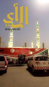 الهلال الأحمر بالمدينة المنورة يباشر أكثر 72 ألف بلاغ خلال عام 1437 هـ