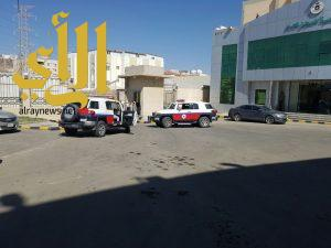 خطة فرضية لصد هجوم مسلح لعدد ثلاثة إرهابيين على إدارة السجن العام بالباحة