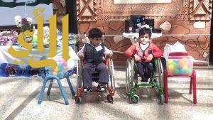 أطفال عسير المعوقين يحتفلون باليوم العالمي للصحة النفسية