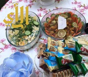 نادي الحي للبنات ينظم برنامج (غذائي سر صحتي ) تزامناً مع اليوم العالمي للغذاء