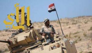 مصرع 27 من قوات الجيش المصري وعناصر إرهابية في اشتباكات بشمال سيناء
