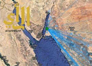 هزتان أرضيتان بقوة 3.6 بالقرب من محافظة البدع بتبوك