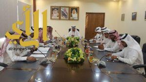 مدير تعليم ألمع يترأس لقاء ريادة القوة والأمانة لقائدات مدارس المحافظة