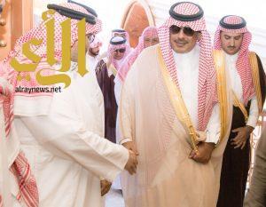 سمو أمير الباحة يعزي أسرة ال صالحة