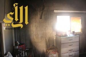 اندلع حريق ببنايه مكونه من ثلاثة أدوار بقرية مسير التابعة لمحافظة المندق