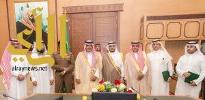 أمير الباحة يرعى توقيع أتفاقية تحسين السلامة المرورية والوقاية من الحوادث