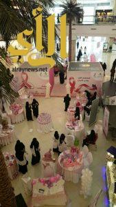 حملة مكافحة سرطان الثدي تواصل اعمالها بعسير مول