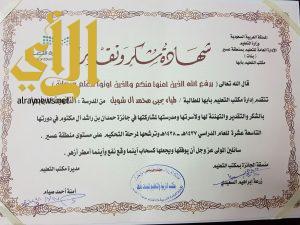 تعليم البنات بأبها يقيم لقاءه الموسمي ويختتم أعمال جائزة الشيخ راشد