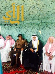 محافظ المندق: ينقل تعازي أمير المنطقة لذوي الشهيد عادل الزهراني بقرية القرنطة