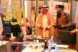 أمين الباحة يتراس اجتماع لجنة الدائمة لتنسيق المشروعات