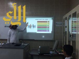 مدرسة عمران بن حصين بآل ظهيرة تقيم برنامج تدريبي للمرحلة المتوسطة