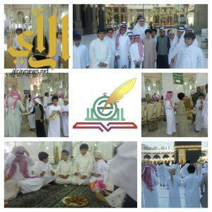 وزير العمل يلتقي بطلاب الفلاح في ساحات الحرم