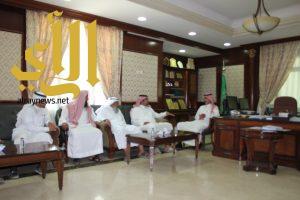 محافظ السليل يستقبل المشرف على فروع جامعة الأمير سطام