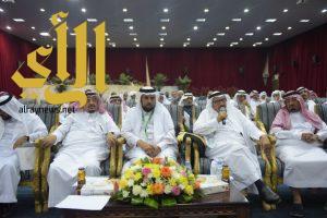الشيخ سعيد العنقري يُعلن عن أنشاء كرسي اللوز بجامعة الباحة