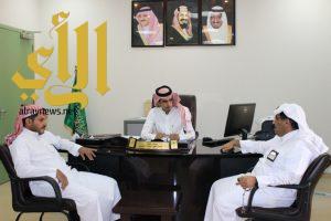 الكلية التقنية بنجران تستقبل مدير الشركة السعودية للكهرباء بالمنطقة