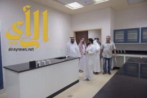 مدير جامعة الباحة المكلف يتابع جاهزية مباني كلية العلوم والآداب في المخواة