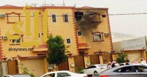 الدفاع المدني يباشر بلاغاً عن سقوط مقذوف عسكري على صامطة