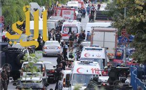 إصابة عشرة أشخاص في تفجير قرب مركز للشرطة بإسطنبول