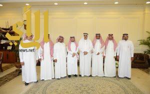 أمين الشرقية يلتقي بأعضاء المجلس بلدي مليجه
