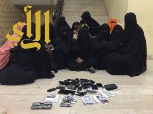 ضبط 15 إمرأة مقيمات بطريقة غير نظامية في خميس مشيط