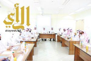 برنامج تدريبي على منظومة قيادة الأداء المدرسي لقادة ووكلاء المدارس ببلقرن