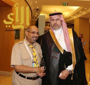أمين عام الكشاف المسلم يلتقي بسمو رئيس هيئة الرياضة السعودية بإسطنبول