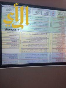"""""""قيم المواطنة ومناهجنا"""" ورشة عمل في مكتب بحرة بتعليم مكة"""