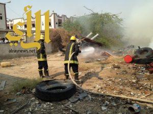 اخماد حريق صناعية المعيصم بالعصمه المقدسه