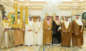 خادم الحرمين يستقبل رؤساء دواوين المراقبة والمحاسبة الخليجيين