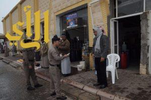 شرطة منطقة الجوف : حملة أمنية مشتركة صباح هذا اليوم الاربعاء بمدينة سكاكا