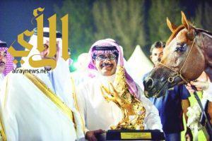 خالد الفيصل يتوج «المعود» بجائزة قدوة الخيل العربية