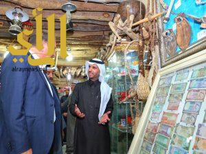 السفير البريطاني يزور المعالم التاريخية والسياحية بالقصيم