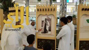 معرض الدولة السعودية والبعد الحضاري يحط برحاله في مجمع الراشد