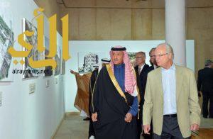 ملك السويد يزور قصر المصمك التاريخي