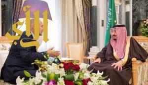 الملك سلمان يستقبل الأمين العام لجامعة الدول العربية